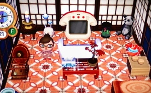Animal Crossing City Folk House