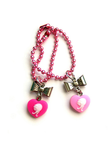 Sweet Heart Doll Necklace