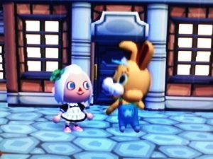 Animal Crossing City Folk Easter Bunny