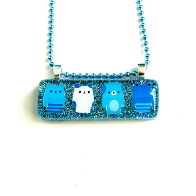 Kawaii Animal Resin Necklace