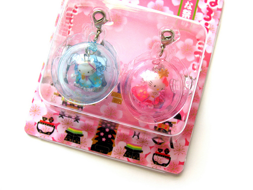 Hello Kitty and Dear Daniel Cell Phone Charms