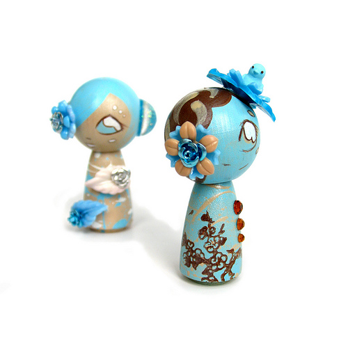 Kokeshi Sky and Snow