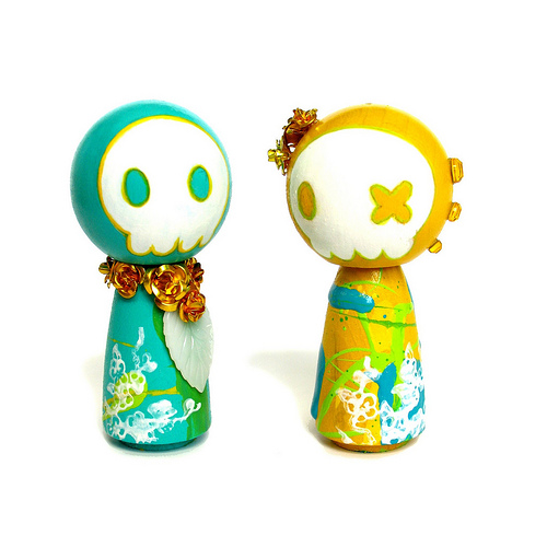 Wedding Topper Kokeshi