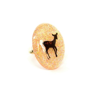 Resin Deer Ring