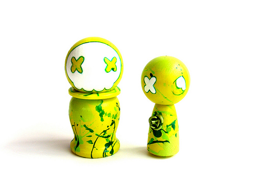 Frankenstein Kokeshi Set