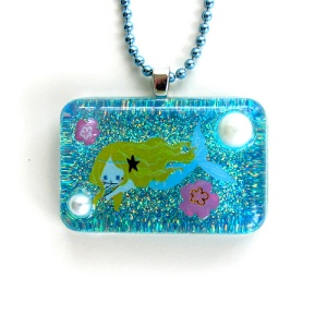 Mermaid Resin Necklace