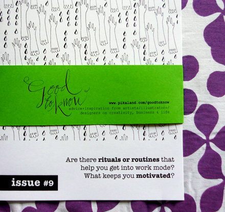 Good to Know Zine Issue 9