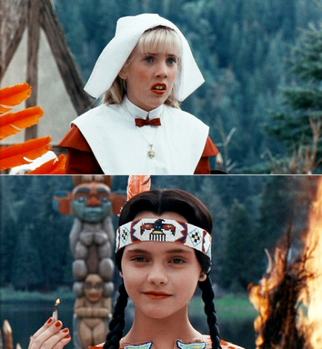 Thanksgiving Wishes from Wednesday Addams