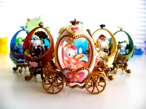 Hello Kitty Faberge Eggs