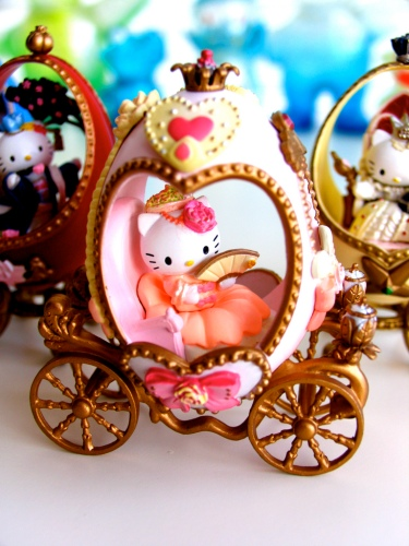 Hello Kitty Eggs French Princess
