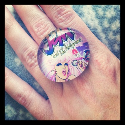 Handmade Jem and the Holograms Ring