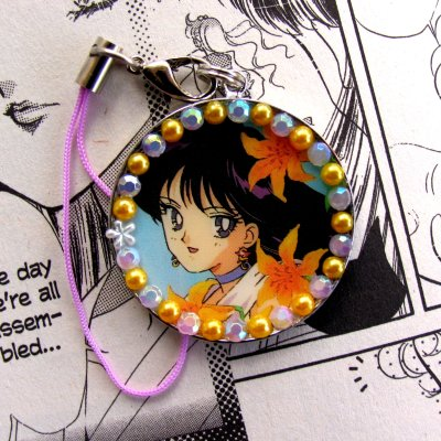Sailor Mars Phone Strap