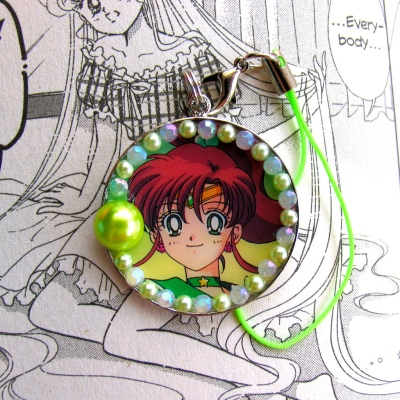 Sailor Jupiter Phone Strap