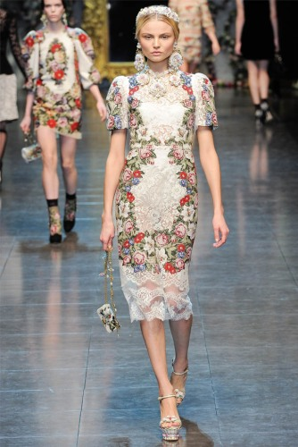 Dolce & Gabbana Fall 2012 Look 35