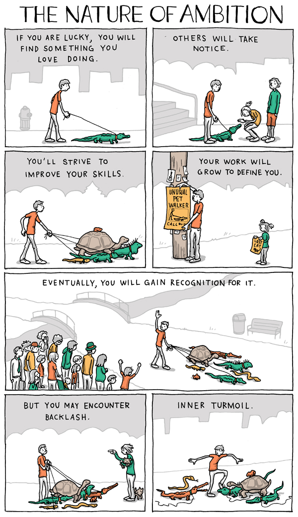 Incidental Comics: The Nature of Ambition Part 1