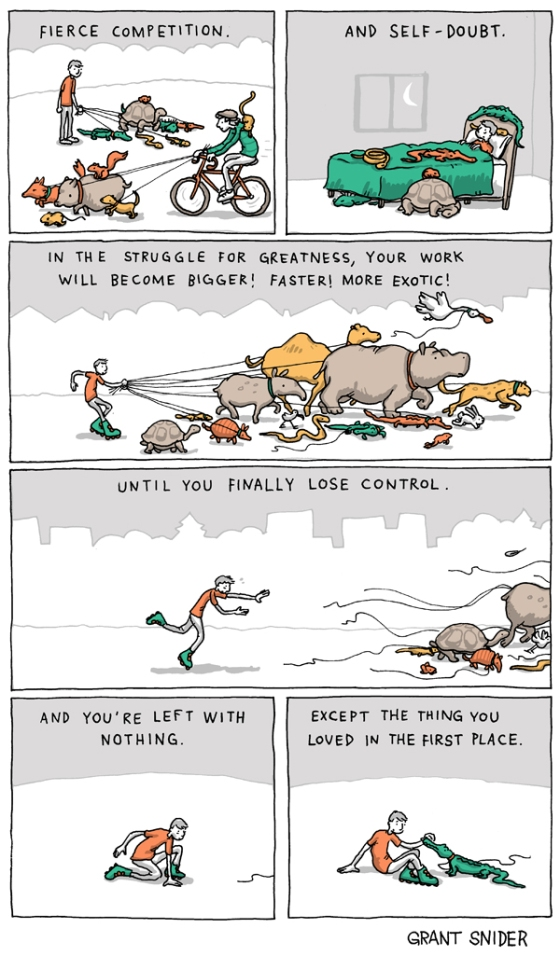Incidental Comics: The Nature of Ambition Part 2