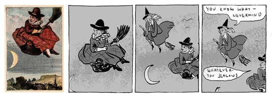 Kate Beaton Witch Comic