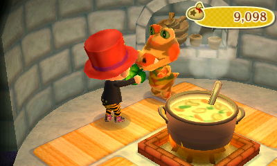 harvest moon ds how to get a green dumpling