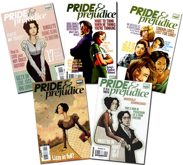 Marvel's Pride and Prejudice by Nancy Butler and Hugo Petrus