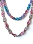 Pastel Chainmail Necklaces by Walter and the Coov