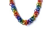 Gay Pride Chainmail Necklace - Shag