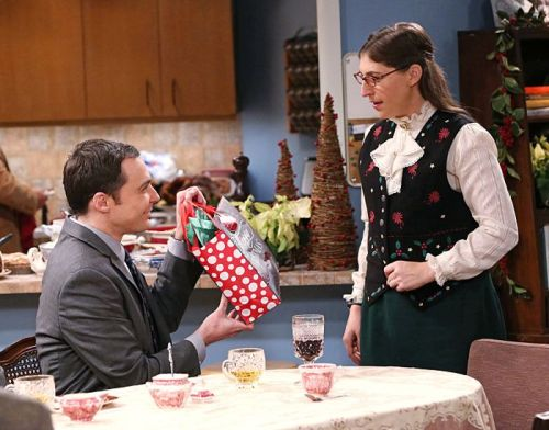 A Very Sheldon and Amy Christmas