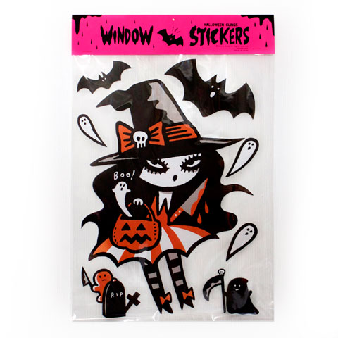 Mizna Wada Halloween Window Cling