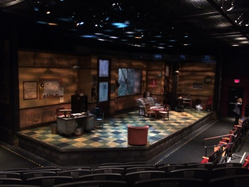 Jitney by August Wilson, set by American Stage