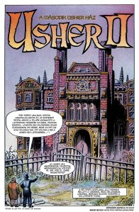 Usher II, Hungarian Graphic Novel