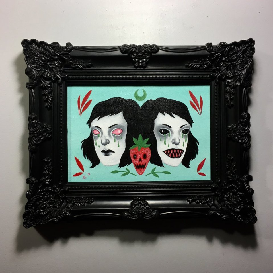 Spookyberry Twins by Ally Burke