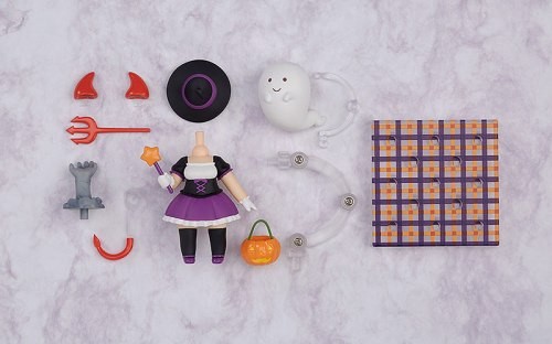 Nendoroid More Halloween Set: Girl Version