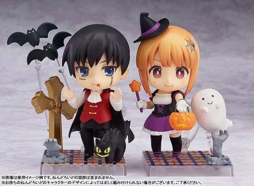 Nendoroid More Halloween Sets: Girl and Boy