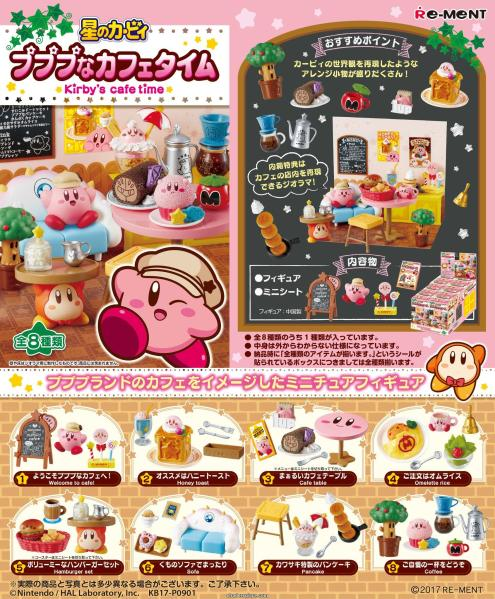Re-ment Kirby Cafe Time Set